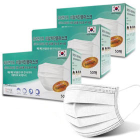 의약외품 kf-ad 비말차단용 일회용 덴탈 마스크 100매