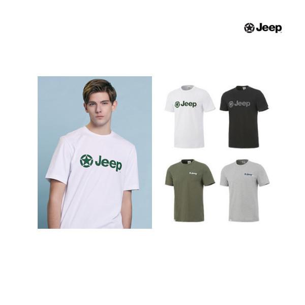 지프  JEEP 남성 시그니처 로고 티셔츠 4종 상품이미지