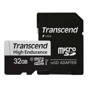 트랜센드 350V 마이크로SD카드 32GB/블랙박스용