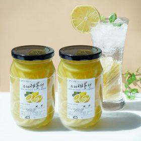 1+1 첨가물없는 수제과일청  레몬청 500g+레몬청 500g
