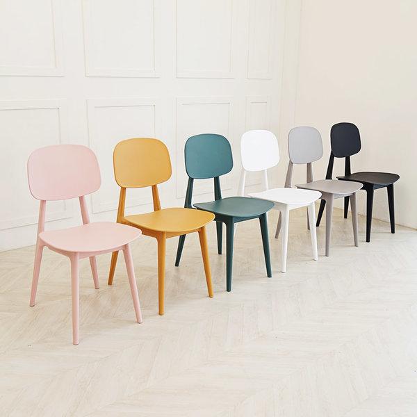 스카 브로스 체어 6colors 북유럽 디자인 식탁의자 상품이미지