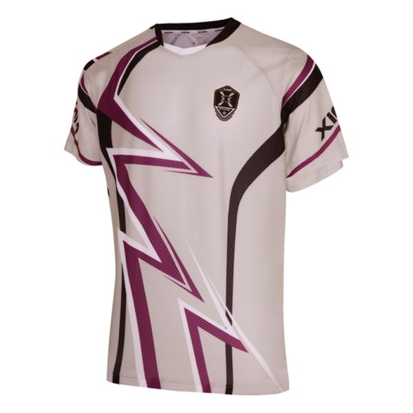 엑시옴 탁구티셔츠 - 맥스(MAX) 베이지-기능성티셔츠 상품이미지
