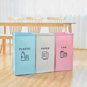 가정용 재활용 분리수거함 3단 대형/