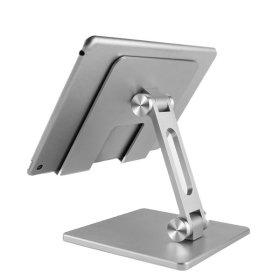 휴대용 태블릿 휴대폰 아이패드 알루미늄 거치대 실버