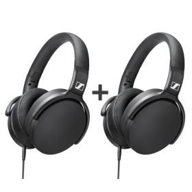 젠하이저 HD400S 헤드폰 2개 셋트 마이크 통화 가능
