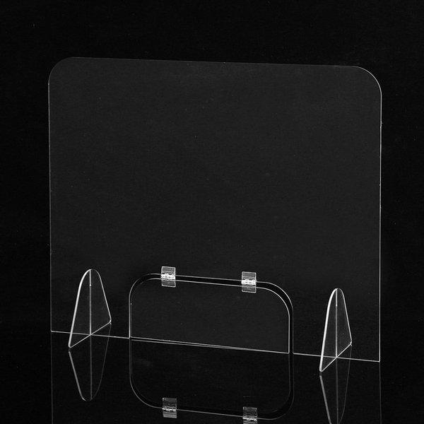 세이프 투명 아크릴 칸막이(60x60cm) 창구형가림막 상품이미지