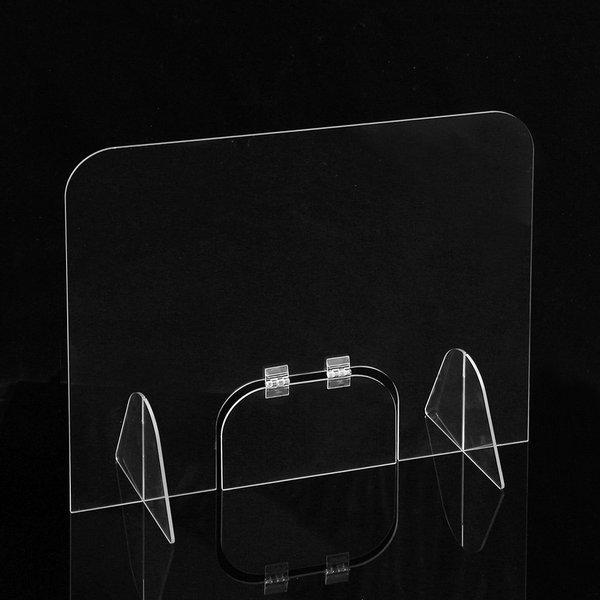 세이프 투명 아크릴 칸막이(40x50cm) 창구형가림막 상품이미지