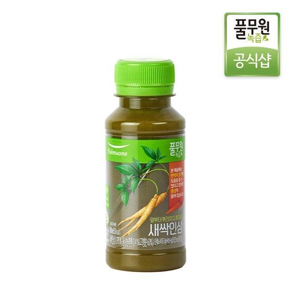 정기배송 주5회x4주  풀무원녹즙 새싹인삼 100ml 상품이미지