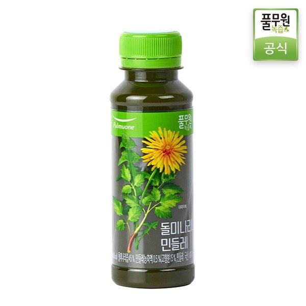 정기배송 주3회x4주  풀무원녹즙 돌미나리와민들레 130ml 상품이미지