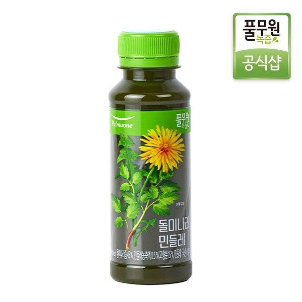 정기배송 주5회x4주  풀무원녹즙 돌미나리와민들레 130ml 상품이미지