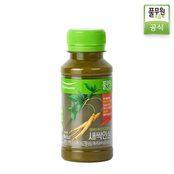 정기배송 주3회x4주  풀무원녹즙 새싹인삼 100ml 상품이미지