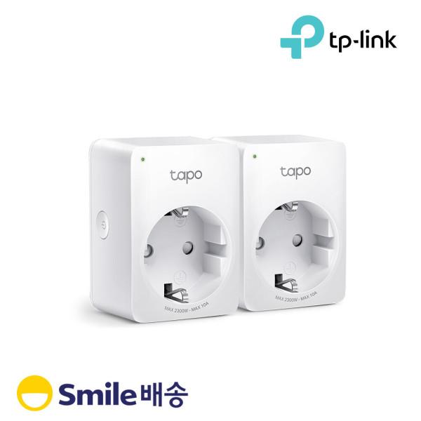 Tapo P100 (2팩) IoT 무선 Wi-Fi 절전 스마트 플러그 상품이미지