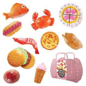 과일과 야채 자르기+바구니 20pcs (SS20-10)