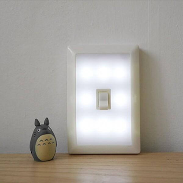 8LED 온오프 스위치 무선 전등 벽면등 상품이미지
