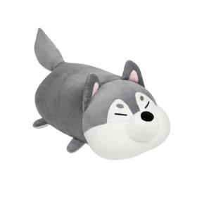 모찌 강아지 고양이 동물 쿠션 애착 인형  허스키 35cm