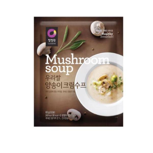(신세계강남점)청정원 우리쌀)양송이수프60g(1개) 상품이미지