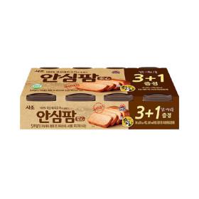 사조 안심팜 200g x 4캔 (3캔+1캔 증정)/햄/통조림