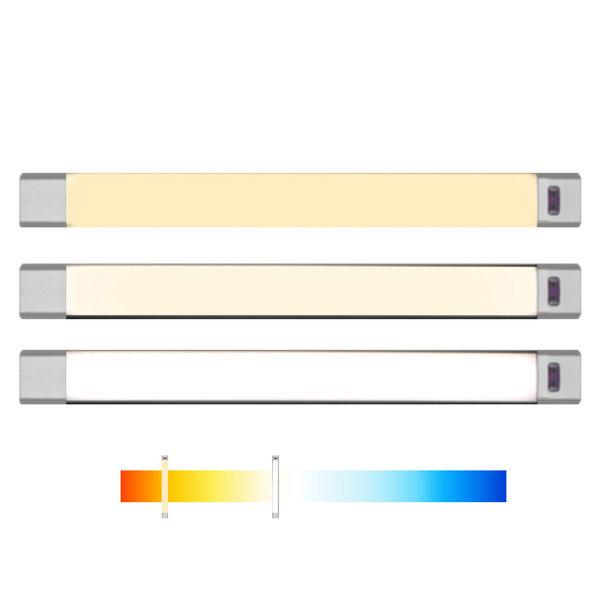 색상조절 LED스탠드 조명램프 30cm 센서 독서등 책상 상품이미지
