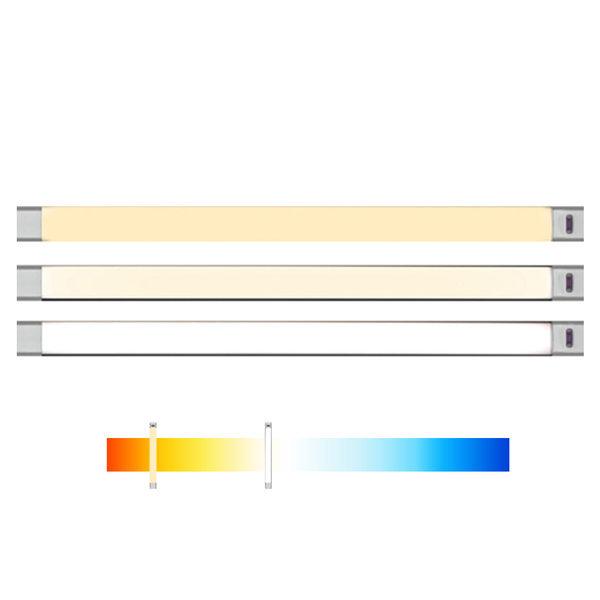 색상조절 LED스탠드 조명램프 50cm 센서 일자등 책상 상품이미지