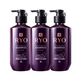 RYO Jayang Hair Loss Expert Care SHAMPOO (for oily scalp) 400ml x 3pcs Special Set