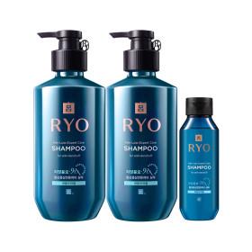 RYO Jayang 9EX Hair Loss Expert Care SHAMPOO(for anti-dandruff)400ml x 2 +Giveaway