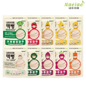 [Naeiae] Organic Baby Rice Snack 20 Sets