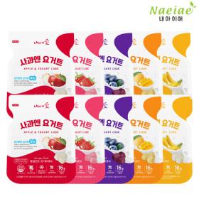 Freeze-drying Yogurt and fruit 20-item set