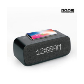 [아트박스] /빌보드 붐마스터 배드사이드 스마트폰 고속무선충전 블루투스 스피커 SD-01