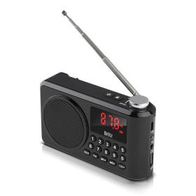 BZ-LV990 (블랙) 블루투스 휴대용 소형 효도 라디오