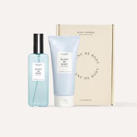 BLANC DE BODY Perfume Body Care 2-item Set IRIS COTTON