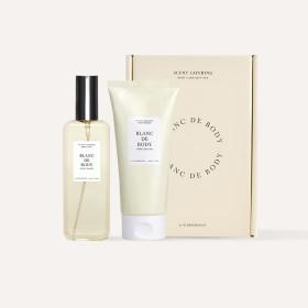 BLANC DE BODY Perfume Body Care 2-item Set SWEET BLOOM