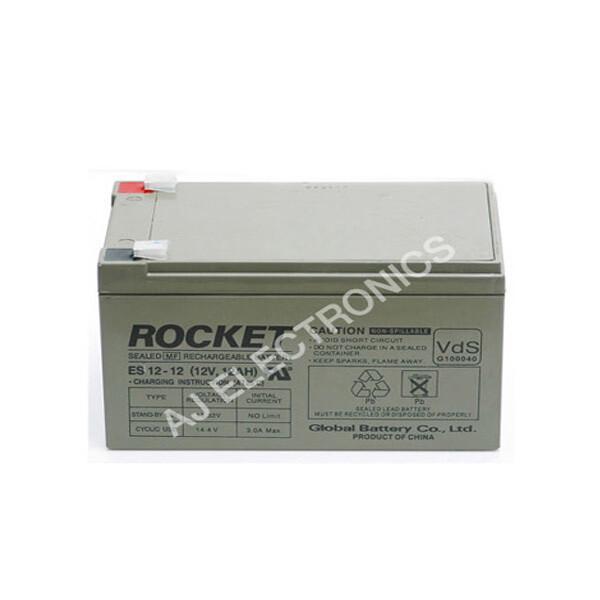 로케트 연(납)축전지 ES12-12 (12V 12Ah) 대형완구 상품이미지