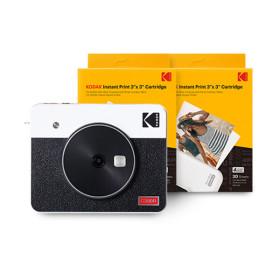 코닥 미니샷3 레트로+60매 폴라로이드 카메라(화이트)