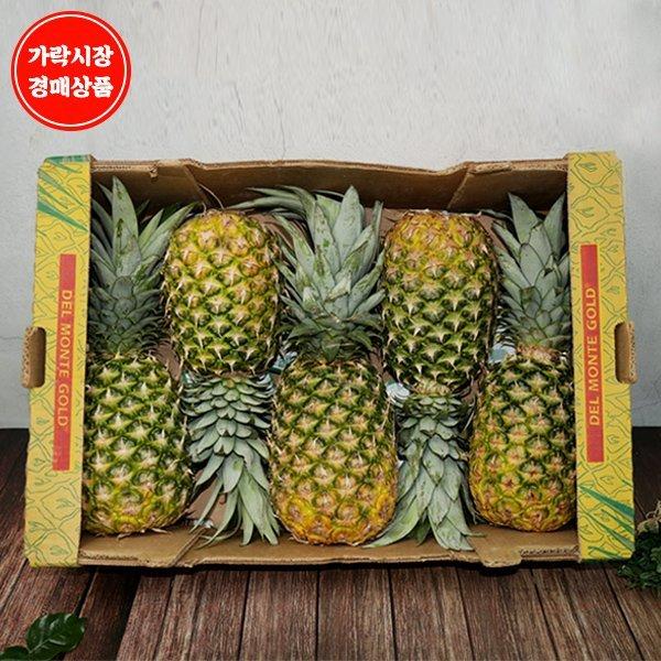 (맛다름)  가락시장 경매 식자재 과일  필리핀 골드파인애플 원박스 5~6수  12kg내외 상품이미지