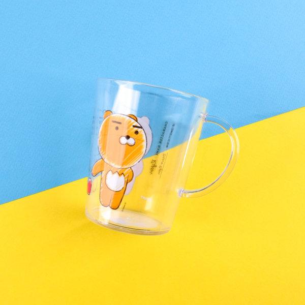 카카오프렌즈_스케치투명양치컵_라이언 상품이미지
