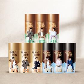 BTS 커피 3종 9개입 콜드브루 1개 추가증정