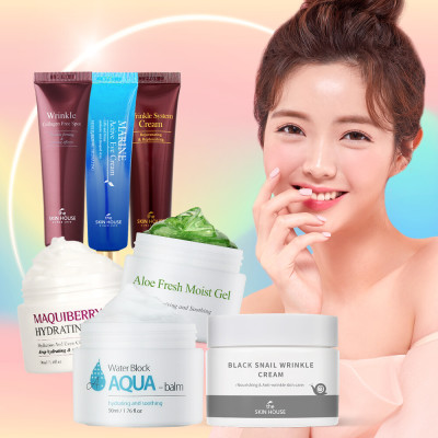 [THE SKINHOUSE] Firming Eye Cream/Ampoule/Cream 1+1+1 Package KRW 9900