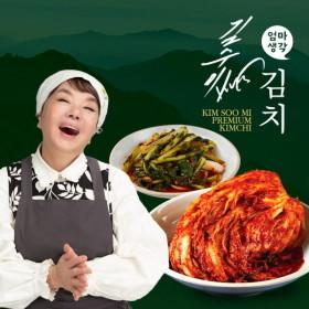 [김수미 엄마생각] (김수미의 엄마생각) [더프리미엄] 포기김치 7kg+열무김치2kg
