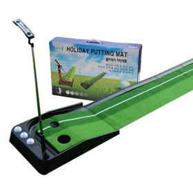 퍼팅매트 퍼팅연습기 실내용 숏게임 연습 스윙 퍼터