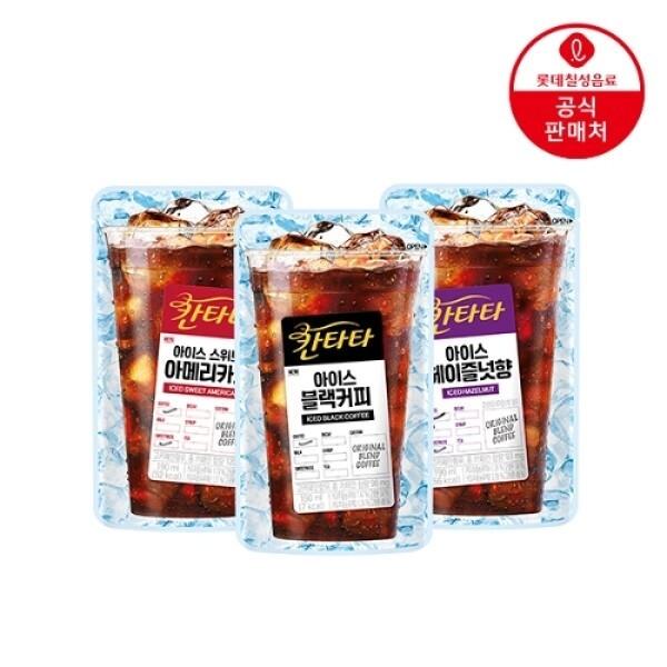 롯데칠성음료 T 롯데칠성 칸타타 아이스커피 파우치 190ml x 20개 상품이미지