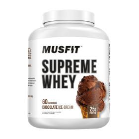 머스핏 슈프림 웨이 프로틴 파우더 헬스 보충제 초콜릿 아이스크림 60 서빙 2.26 kg Musfit 빠른직구