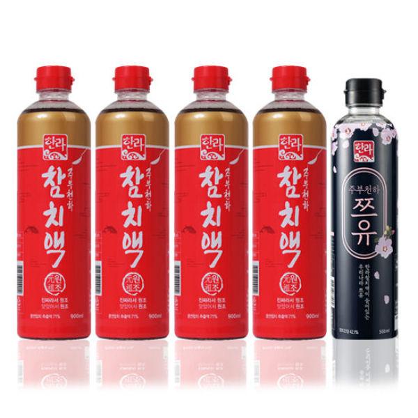 한라식품 한라참치액 900ml 4 주부천하쯔유 500ml 1 상품이미지