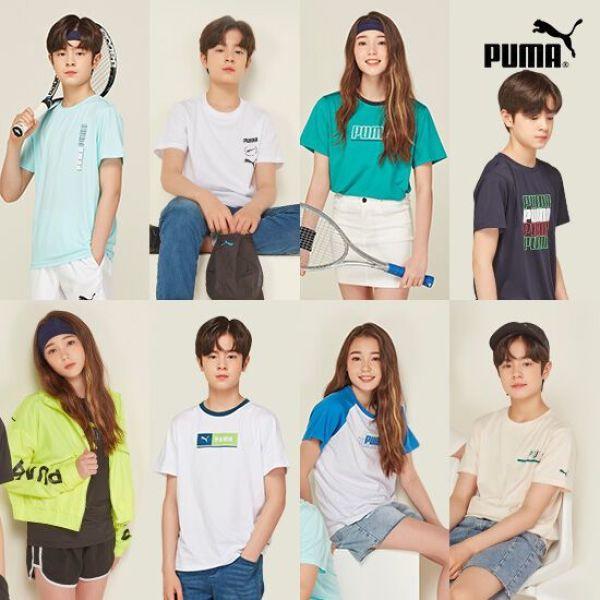 공용)푸마 틴에이저 썸머 데일리 티셔츠 8종(청소년사 상품이미지
