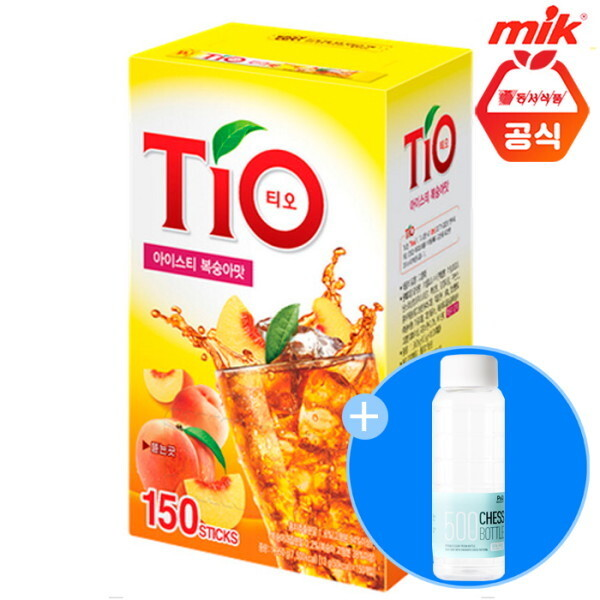 동서식품  동서 티오 아이스티 복숭아맛150T 상품이미지