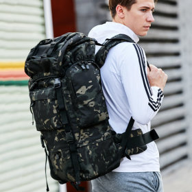 70L 대용량 백패킹 배낭 / 캠핑 군장 가방