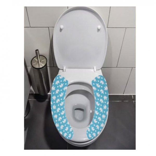 (제이큐) 접착식 화장실 변기커버 시트 랜덤출고 상품이미지