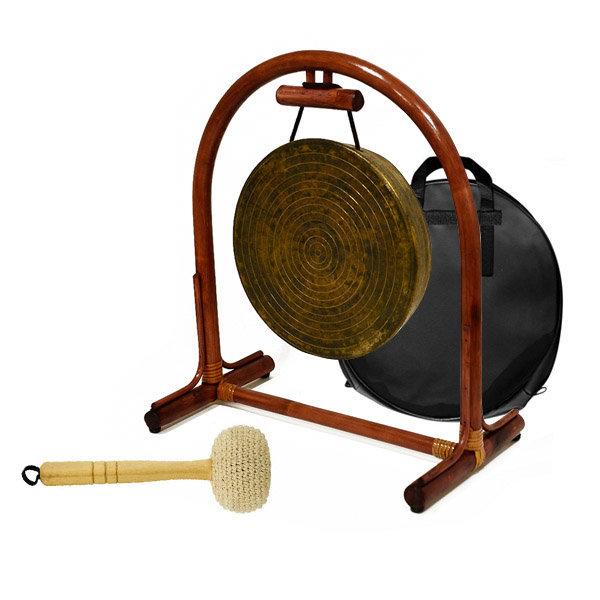새화국악기 사물징 세트 (소징+징걸이+징채+가방) 상품이미지