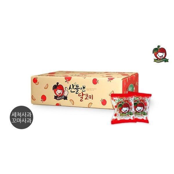 미시마 꼬마사과 산들앤 달코미 세척사과 총 3kg 1 box 상품이미지