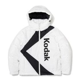 케이 헤비 다운 자켓 WHITE