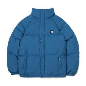 컬러플러스 숏 다운 자켓 BLUE